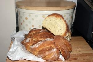 Elli's delicious corn bread. None left now, sorry!